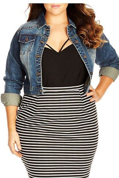 5 stylish cropped jackets for curvy women 4 - 5-stylish-cropped-jackets-for-curvy-women-4