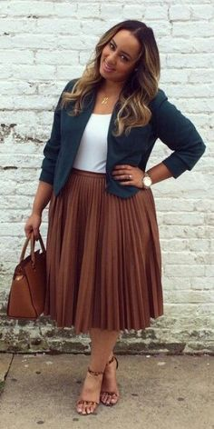 plus size fall fashion for work 16 stylish outfit to copy 2 - plus-size-fall-fashion-for-work-16-stylish-outfit-to-copy-2