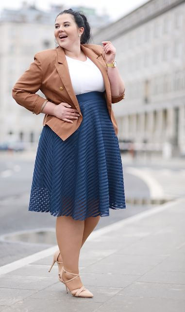 plus size fall fashion for work 16 stylish outfit to copy 3 - plus-size-fall-fashion-for-work-16-stylish-outfit-to-copy-3
