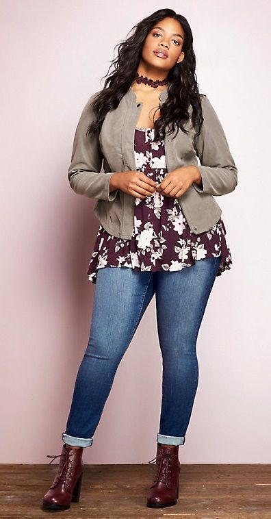 25 casual plus size winter outfits you have to try 17 - 25-casual-plus-size-winter-outfits-you-have-to-try-17