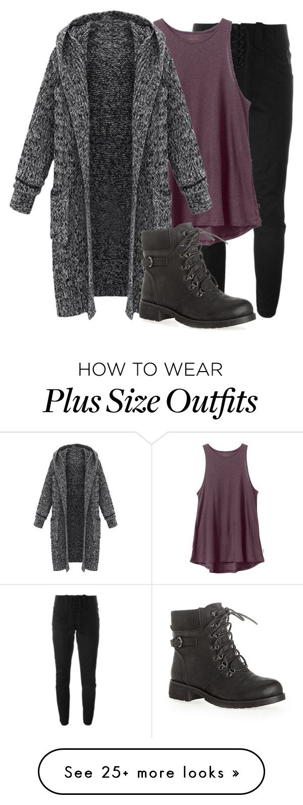 25 casual plus size winter outfits you have to try 2 - 25-casual-plus-size-winter-outfits-you-have-to-try-2