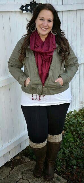 25 casual plus size winter outfits you have to try 5 - 25-casual-plus-size-winter-outfits-you-have-to-try-5