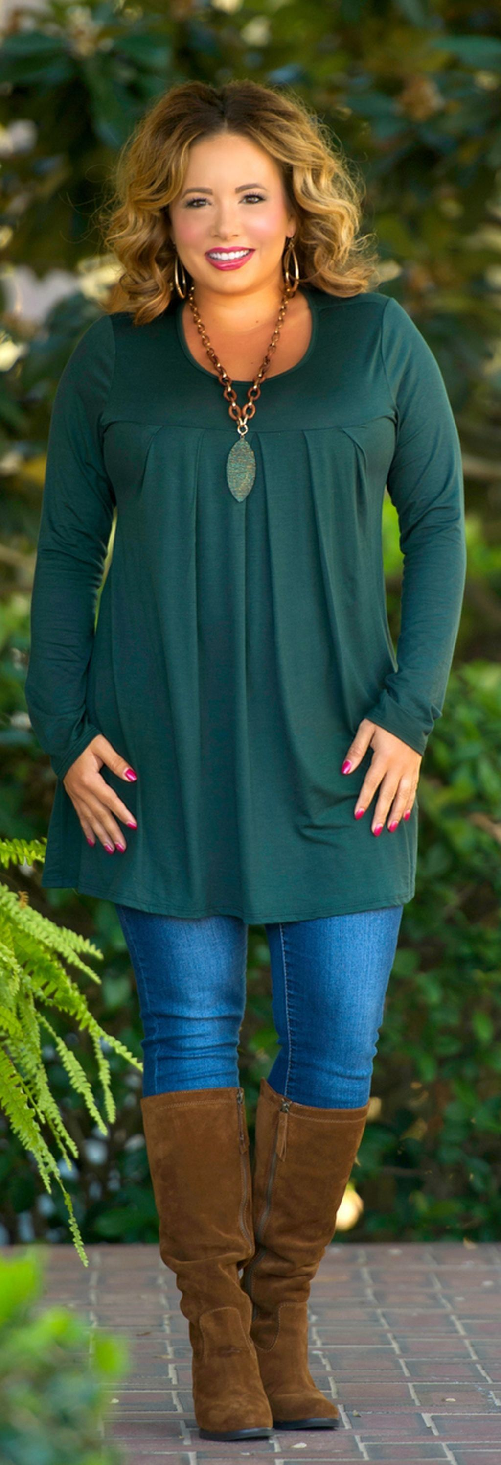 25 casual plus size winter outfits you have to try 6 - 25-casual-plus-size-winter-outfits-you-have-to-try-6