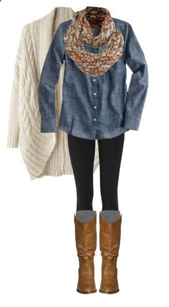 25 casual plus size winter outfits you have to try 7 - 25-casual-plus-size-winter-outfits-you-have-to-try-7
