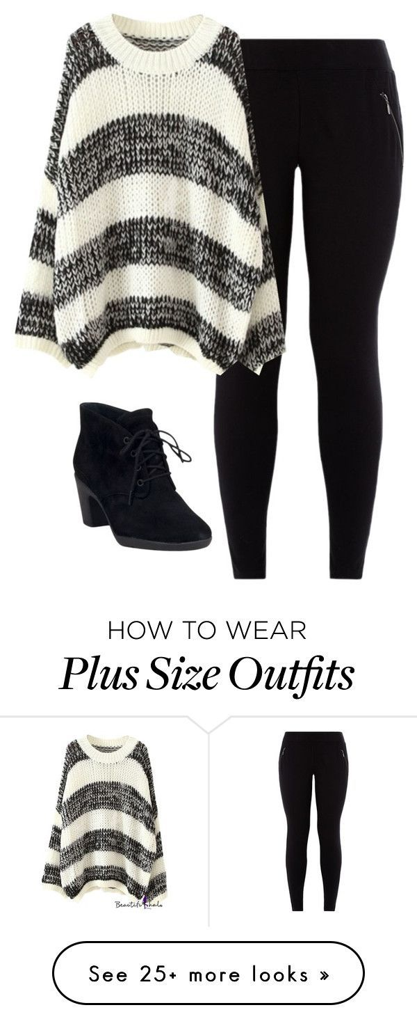 25 casual plus size winter outfits you have to try - 25-casual-plus-size-winter-outfits-you-have-to-try