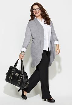 25 plus size winter work outfits you can try 5 - 25-plus-size-winter-work-outfits-you-can-try-5