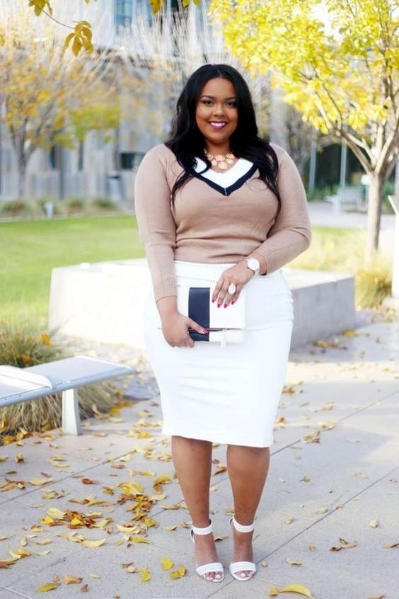 25 plus size winter work outfits you can try 9 - 25-plus-size-winter-work-outfits-you-can-try-9