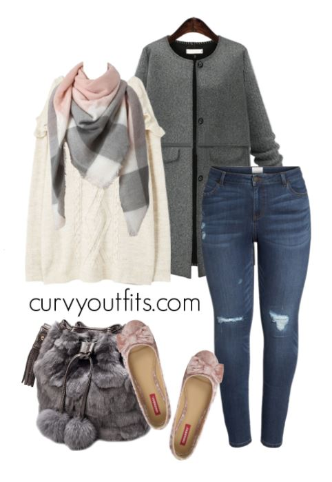 plus size winter outfit 1 - 3 stylish plus size winter outfits to wear today