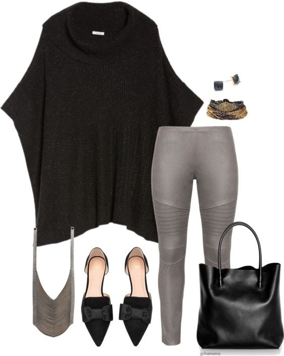 5edf31d06f7 19 stylish ways to wear a plus size leggings outfit - Page 4 of 18 ...