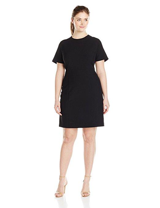 11 plus size short black dresses for fashionable outfits 2 - 11-plus-size-short-black-dresses-for-fashionable-outfits-2