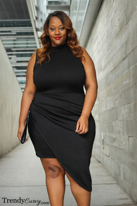 11-plus-size-short-black-dresses-for-fashionable-outfits-5 ...