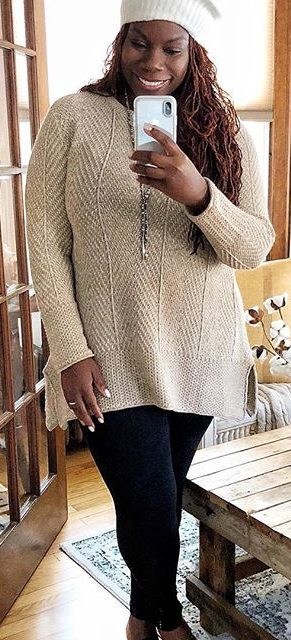 27 business casual plus size outfits for winter 2 e1516743707612 - 27-business-casual-plus-size-outfits-for-winter-2