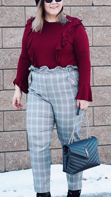 27 business casual plus size outfits for winter 7 e1516743990549 - 27-business-casual-plus-size-outfits-for-winter-7