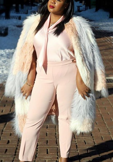 27 business casual plus size outfits for winter 8 e1516744017858 - 27-business-casual-plus-size-outfits-for-winter-8