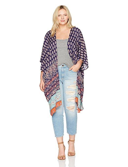 19 ways to wear a plus size kimono 10 - 19-ways-to-wear-a-plus-size-kimono-10
