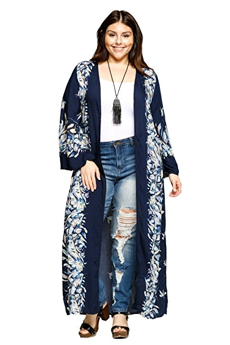 19 ways to wear a plus size kimono 5 - 19-ways-to-wear-a-plus-size-kimono-5