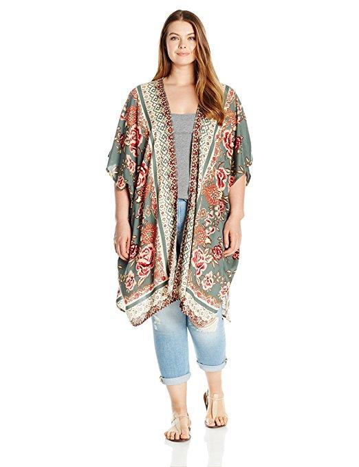 19 ways to wear a plus size kimono - 19-ways-to-wear-a-plus-size-kimono