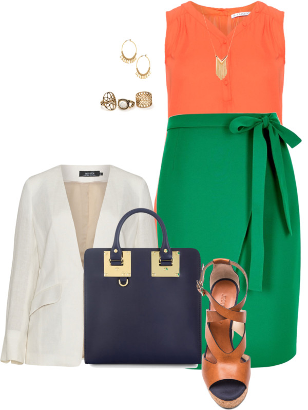 31 stylish plus size work outfits for spring 17 - 31 stylish plus size work outfits for spring (17)