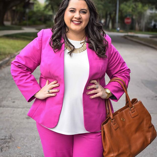 31 stylish plus size work outfits for spring 26 - 31 stylish plus size work outfits for spring (26)