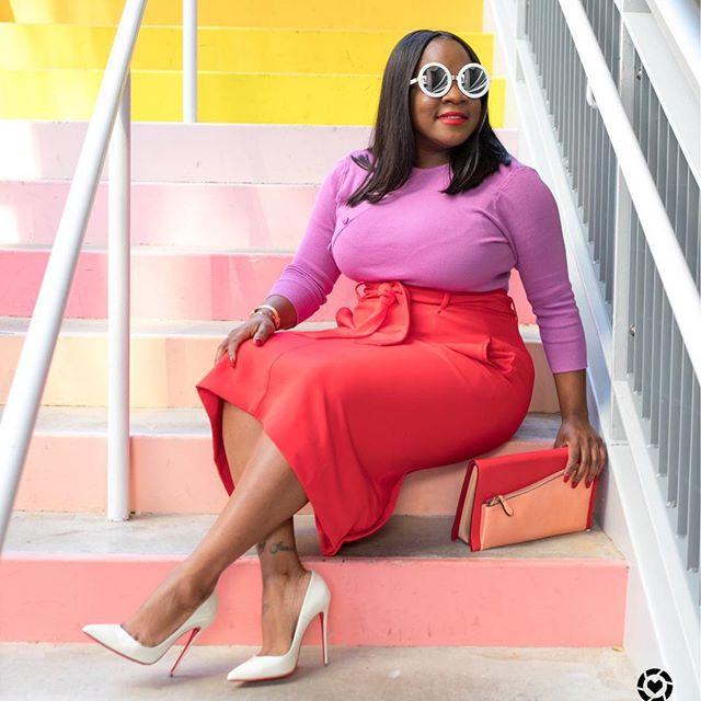31 stylish plus size work outfits for spring 28 - 31 stylish plus size work outfits for spring (28)