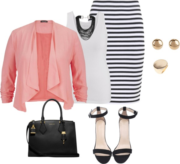 31 stylish plus size work outfits for spring 4 - 31 stylish plus size work outfits for spring (4)