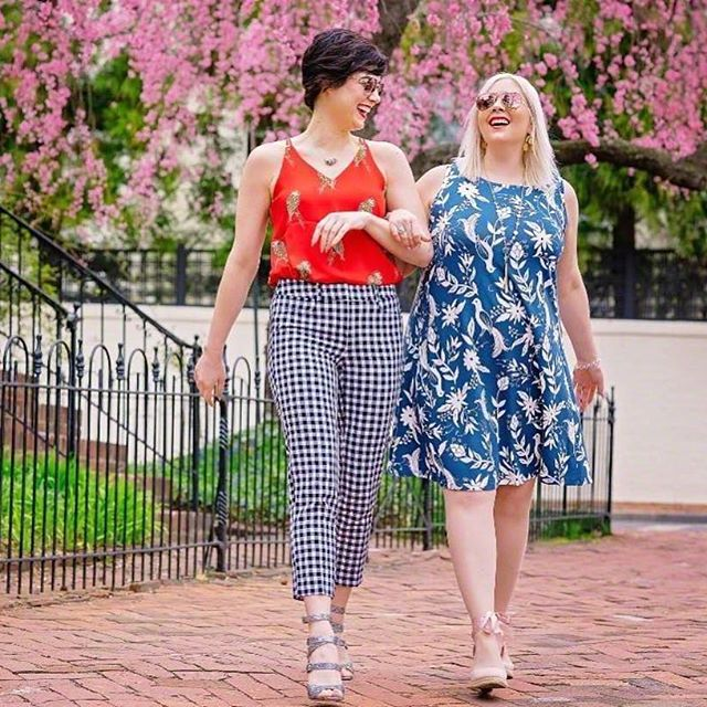 11 lovely plus size dress outfits for spring 10 - 11-lovely-plus-size-dress-outfits-for-spring-10