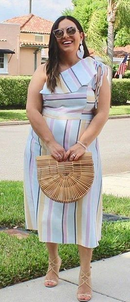 11 lovely plus size dress outfits for spring e1524418845334 - 11 lovely plus size dress outfits for spring